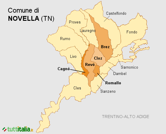 Cartina Novella