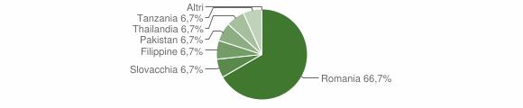 Grafico cittadinanza stranieri - Fabrizia 2009