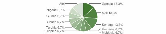 Grafico cittadinanza stranieri - Fabrizia 2017