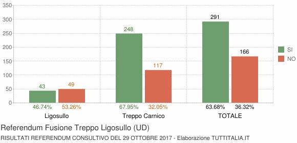 Referendum Fusione Treppo Ligosullo (UD)