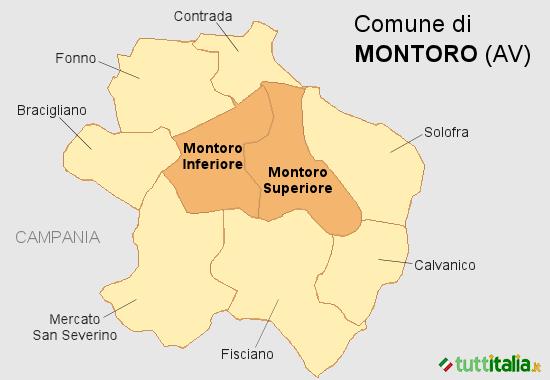 Cartina Montoro