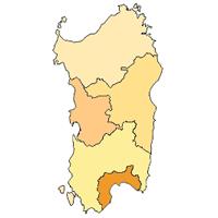 Cartina Sardegna Province.Le Province Della Sardegna