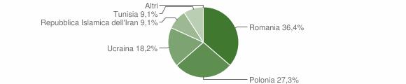 Grafico cittadinanza stranieri - Accettura 2008