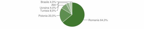 Grafico cittadinanza stranieri - Accettura 2014
