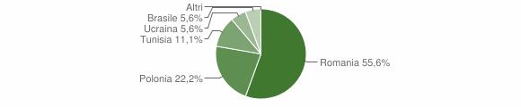 Grafico cittadinanza stranieri - Accettura 2015