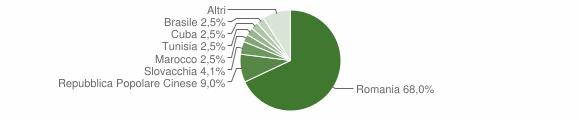 Grafico cittadinanza stranieri - Lagonegro 2019