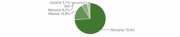 Grafico cittadinanza stranieri - Gorgoglione 2015