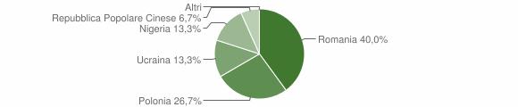 Grafico cittadinanza stranieri - Marzi 2011