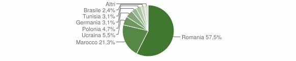 Grafico cittadinanza stranieri - Rose 2012