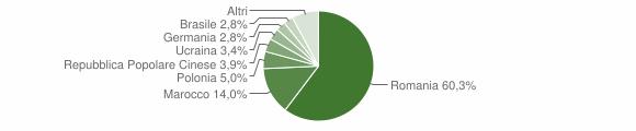 Grafico cittadinanza stranieri - Rose 2019