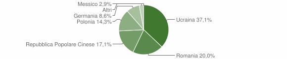 Grafico cittadinanza stranieri - Aieta 2018