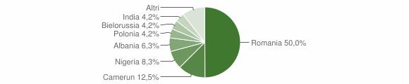 Grafico cittadinanza stranieri - San Benedetto Ullano 2017