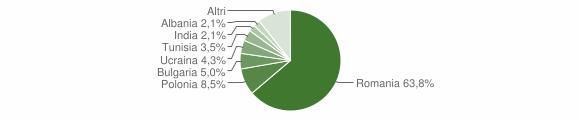 Grafico cittadinanza stranieri - Scandale 2011