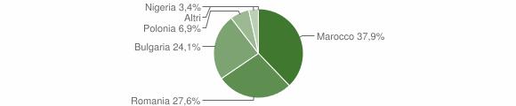 Grafico cittadinanza stranieri - Zaccanopoli 2015
