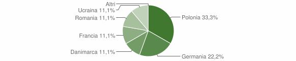 Grafico cittadinanza stranieri - Verbicaro 2009