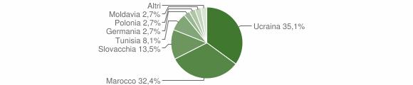 Grafico cittadinanza stranieri - Laureana di Borrello 2006