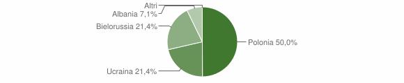 Grafico cittadinanza stranieri - Magisano 2008