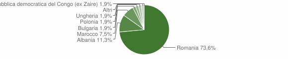 Grafico cittadinanza stranieri - San Roberto 2010