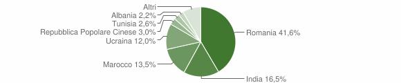 Grafico cittadinanza stranieri - Bianco 2016