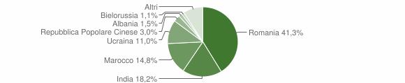 Grafico cittadinanza stranieri - Bianco 2019