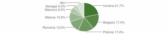 Grafico cittadinanza stranieri - Candidoni 2018
