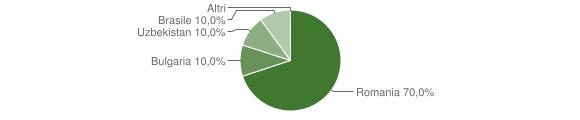 Grafico cittadinanza stranieri - Polia 2013