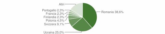 Grafico cittadinanza stranieri - Fiumefreddo Bruzio 2010