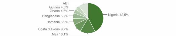 Grafico cittadinanza stranieri - Brognaturo 2017