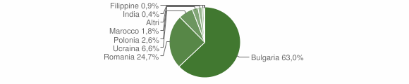 Grafico cittadinanza stranieri - Sant'Eufemia d'Aspromonte 2010