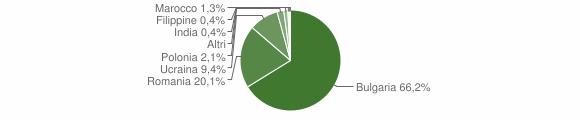 Grafico cittadinanza stranieri - Sant'Eufemia d'Aspromonte 2013