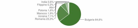 Grafico cittadinanza stranieri - Sant'Eufemia d'Aspromonte 2015