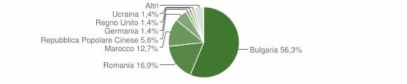 Grafico cittadinanza stranieri - Filadelfia 2014