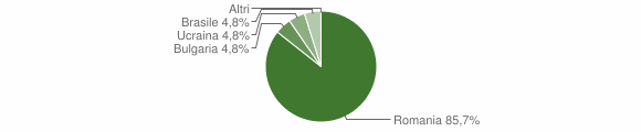 Grafico cittadinanza stranieri - San Nicola da Crissa 2010