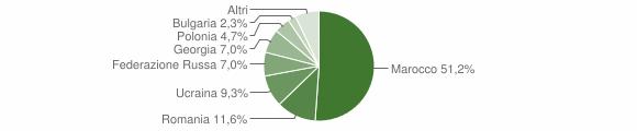 Grafico cittadinanza stranieri - Sellia 2019