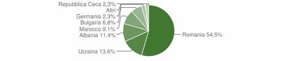 Grafico cittadinanza stranieri - Belcastro 2013