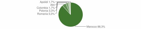 Grafico cittadinanza stranieri - Amato 2008
