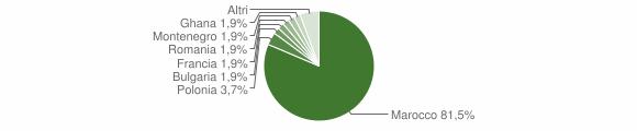 Grafico cittadinanza stranieri - Amato 2010