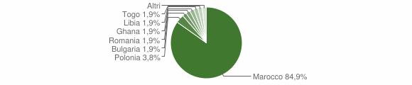 Grafico cittadinanza stranieri - Amato 2011