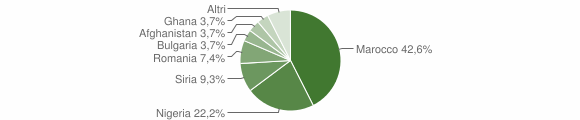 Grafico cittadinanza stranieri - Amato 2019