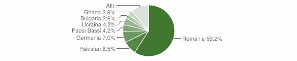 Grafico cittadinanza stranieri - Joppolo 2009