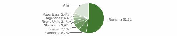Grafico cittadinanza stranieri - Joppolo 2019