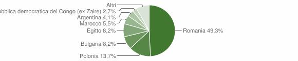 Grafico cittadinanza stranieri - Belvedere di Spinello 2008