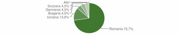 Grafico cittadinanza stranieri - Galatro 2019