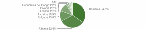 Grafico cittadinanza stranieri - Firmo 2013