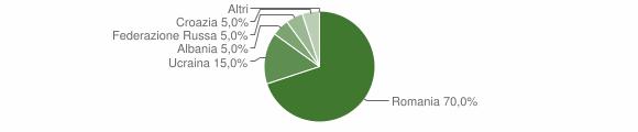 Grafico cittadinanza stranieri - Calopezzati 2008