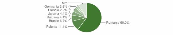 Grafico cittadinanza stranieri - Calopezzati 2013