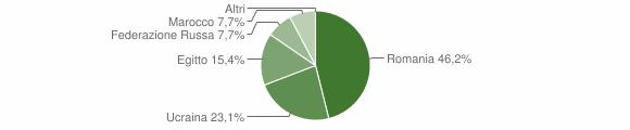 Grafico cittadinanza stranieri - Centrache 2013