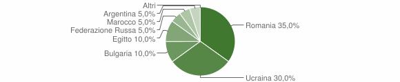 Grafico cittadinanza stranieri - Centrache 2016