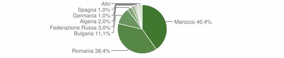 Grafico cittadinanza stranieri - Maierato 2008