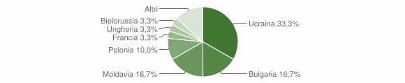 Grafico cittadinanza stranieri - Stilo 2007